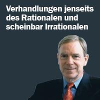 Prof. Wolfgang Salewski, Verhandlungsexperte